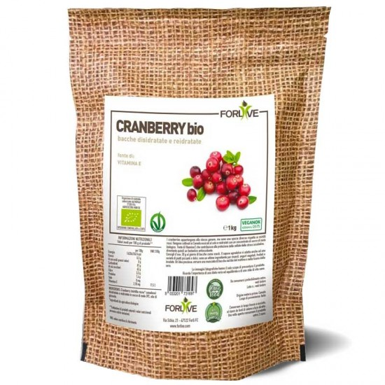 BACCHE DI CRANBERRY BIO 1000 g