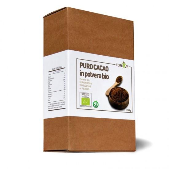 Cacao puro in polvere crudo...