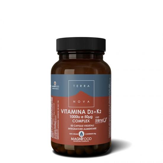 Vitamina D3 + K2 (1000 iu e...
